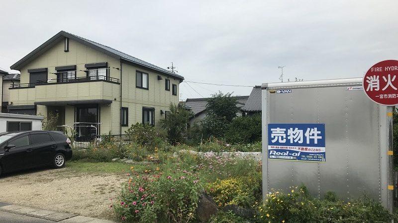 【新規物件】一宮市浅井町西海戸 土地